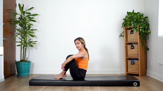 Full Body Classical Mat -- Shoulder Connection (Props: 1 lb weights/ 20 min)