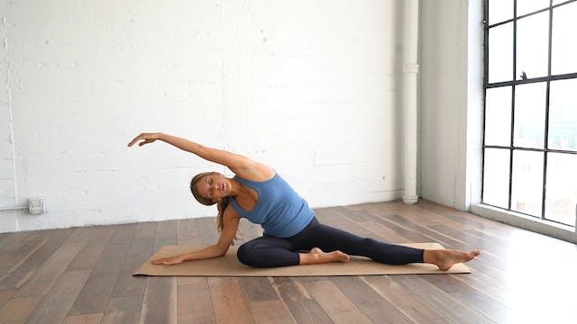 Calming Stretch (No Props, 11 min)