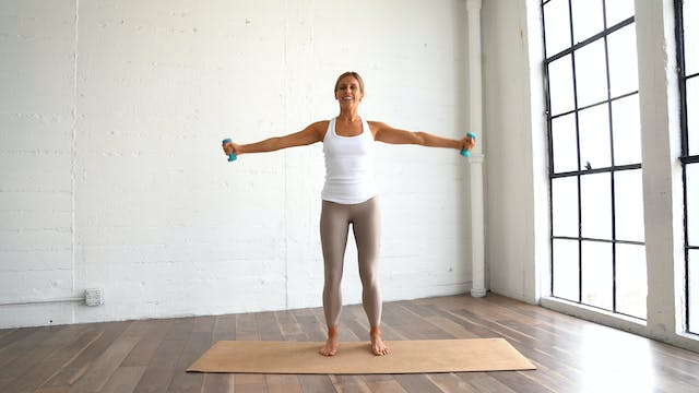 Abs and Arms (Props: 1-2 lbs, 26 min)