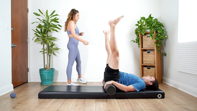 Stretching Class For Hips, Knees and ...