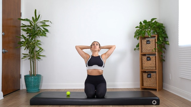 Stretches for the Neck and Shoulders (Props: Tennis Ball, 14 min)