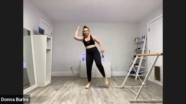 48 min BarreFusion SCULPT Cardio, Balance, & Booty