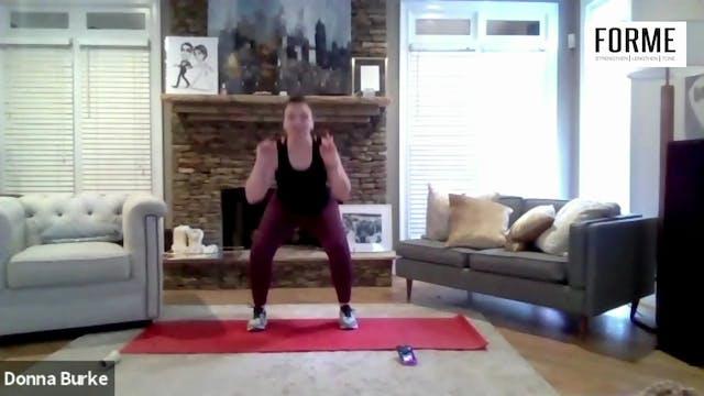 40 min LIFT Quads & Bum