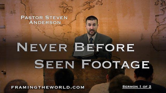 Pastor Steven Anderson: Sermon 1 of 2...