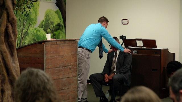 Garrett Kirchway Sermon and Ordination Service