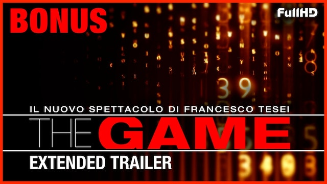 "Bonus: ""The Game"" Extended Trailer"