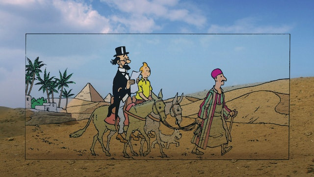 In The Footsteps Of Tintin: Cigars of the Pharaoh (Sn 1 Ep 1)
