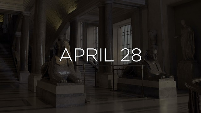 """Discovering the Vatican Museums - EP 104"" Available April 28"