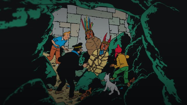 In The Footsteps Of Tintin: Prisoners...