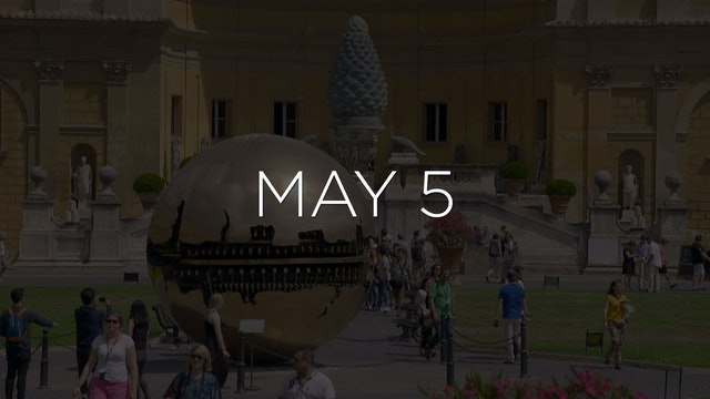 """Discovering the Vatican Museums - EP 105"" Available May 5"