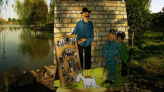 In The Footsteps Of Tintin: The Blue ...