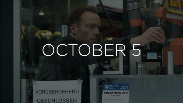 """""""Tatort: Streets of Berlin - EP 108"""" Available October 5"""