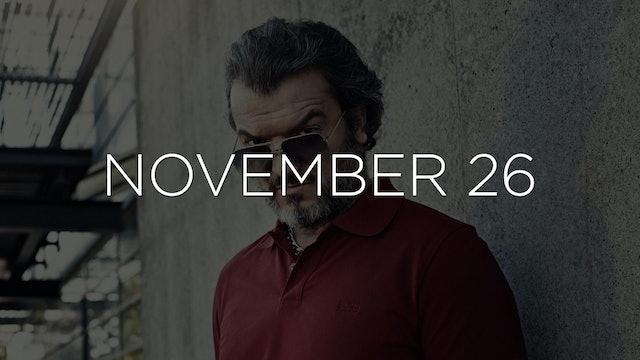 """Triggermen - EP 106"" Available November 26"