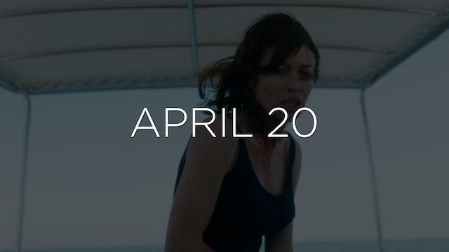 """Wonderland - EP 106"" Available April 20"