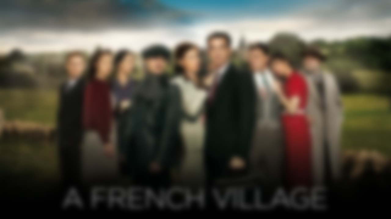 A French Village Blurred