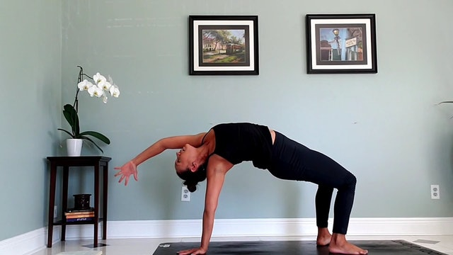 """POWER VINYASA (20 minutes) 