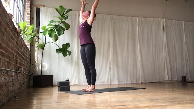 """POWER VINYASA (15 minutes) 