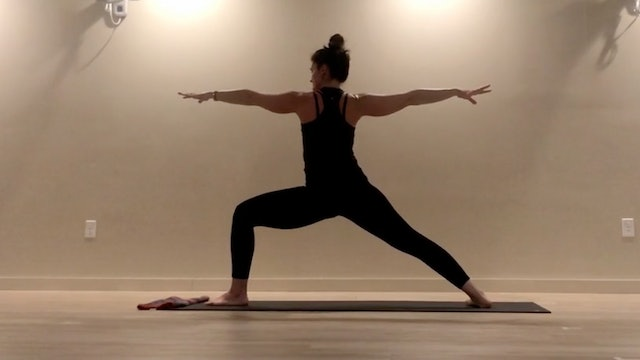 """POWER VINYASA (30 minutes) 