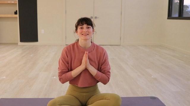 MEDITATION (15 minutes)