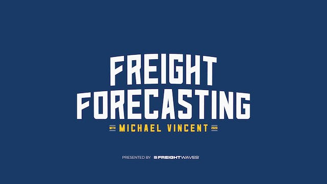 Freight Forecasting - Cost vs Volume:...