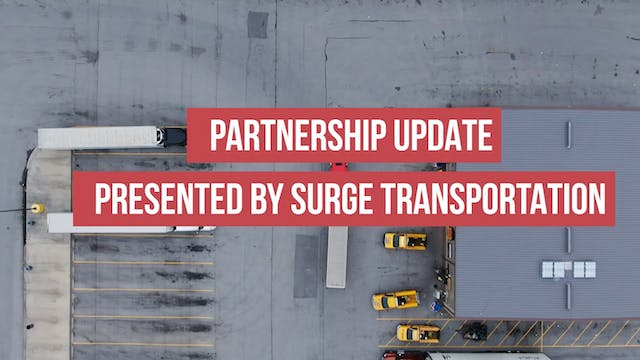 Partnership Update Presented by Surge...