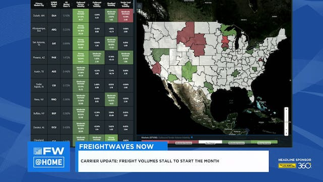 FreightWaves NOW @ Home - May 5