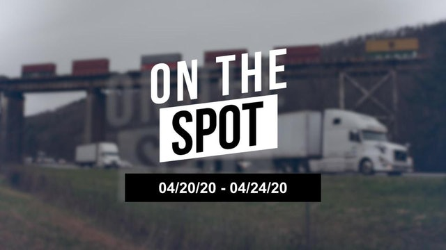 Did the freight market bottom this week? - On the Spot 4/24/20