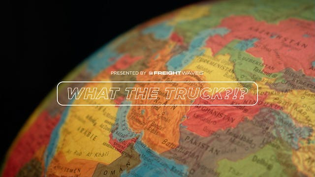 What the Truck?!? Iran's impact on oi...