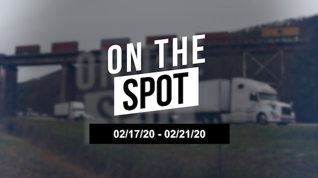On the Spot: Trucking rates are still flat 02/21/20