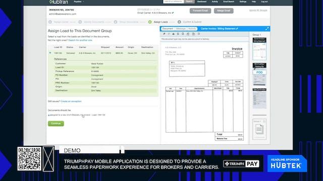 TriumphPay mobile application is desi...