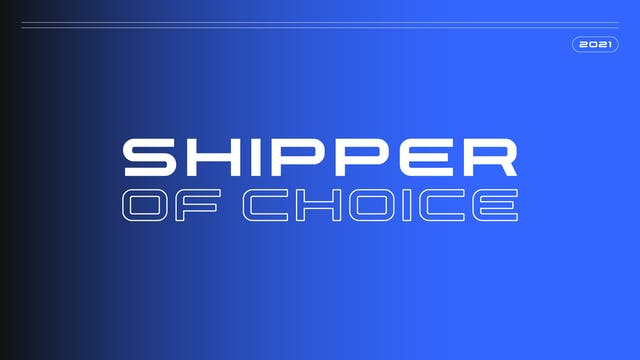 2021 Shipper of Choice Awards