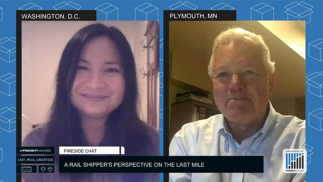 Fireside Chat - A Rail Shipper's Perspective on the Last Mile