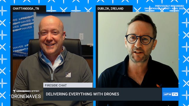 Delivering everything with drones