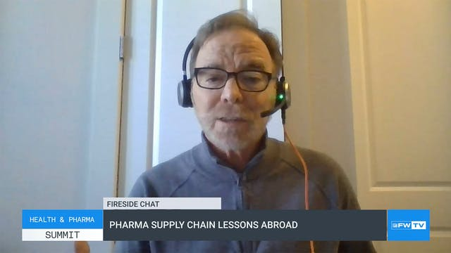 Pharma supply chain lessons abroad