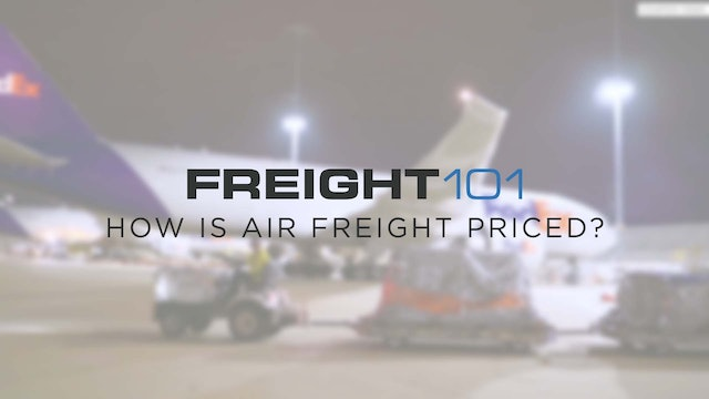 How is air freight priced? - Freight101
