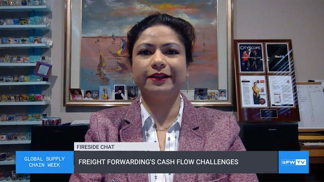 Freight forwarding's cash flow challe...