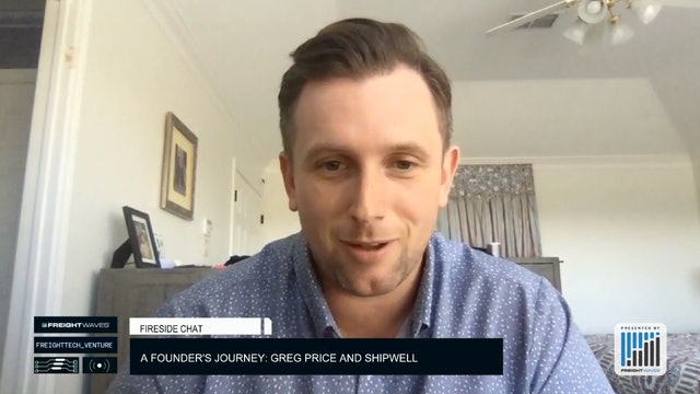 A founder's journey: Greg Price and Shipwell