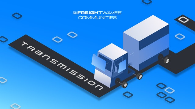 Global maritime awareness in the shipping industry - Transmission