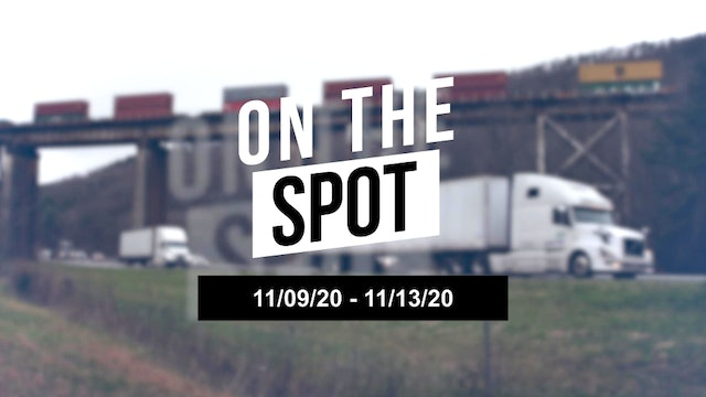 Container imports and surface transportation volumes - On the Spot 11/13/20