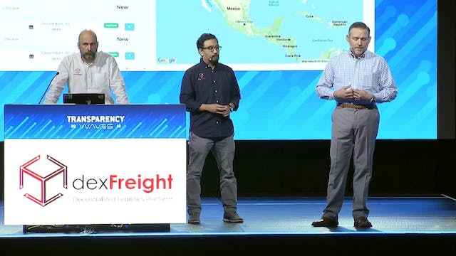 Transparency19 Demo: dexFreight