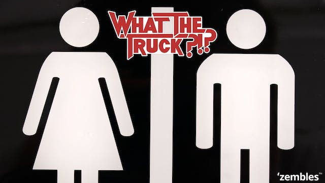 Would you want a toilet in your truck...