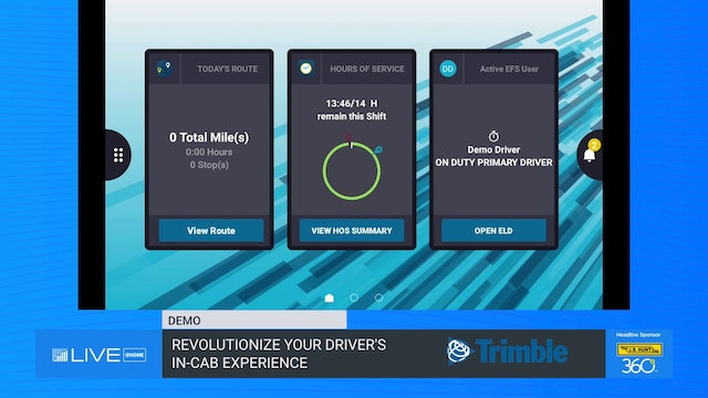 Revolutionize Your Drivers' In-Cab Experience - Demo