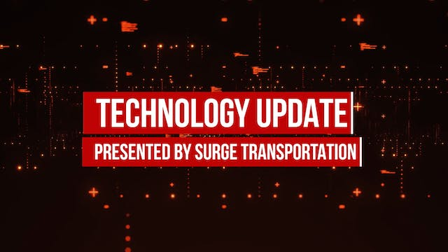 Technology Update with Surge Transpor...