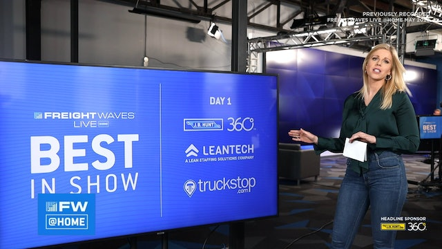 FreightWaves LIVE @ Home Recap and Best in Show Winner Announcement