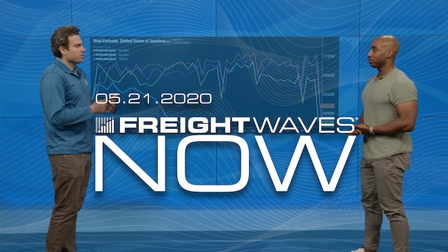 Freight volumes jump in front of Memorial Day - FreightWaves NOW