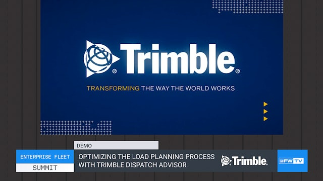 Optimizing the load planning process with Trimble Dispatch Advisor - Demo