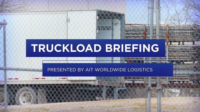 Second-quarter truckload volumes rese...