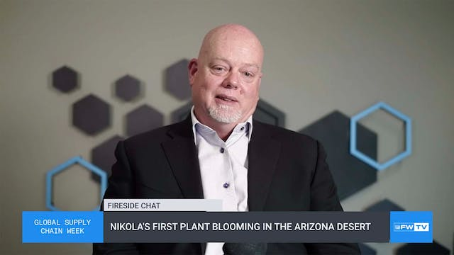 Nikola's first plant blooming in the ...