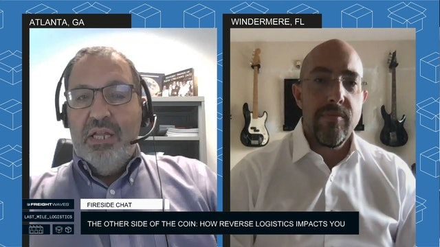 Fireside Chat - The other side of the coin: How Reverse Logistics impacts you