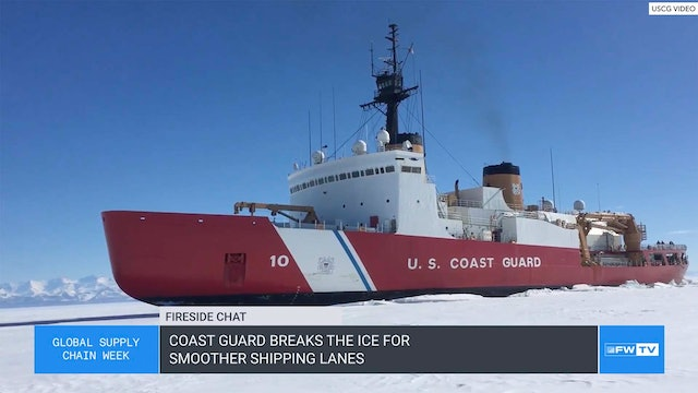 Coast Guard breaks the ice for smoother shipping lanes